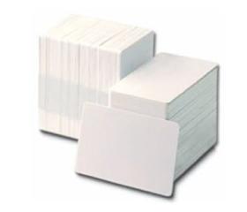 Tarjetas de PVC blanco